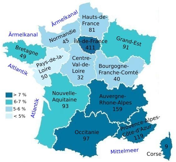 Beliebte Reiseziele Fur Den Frankreich Urlaub