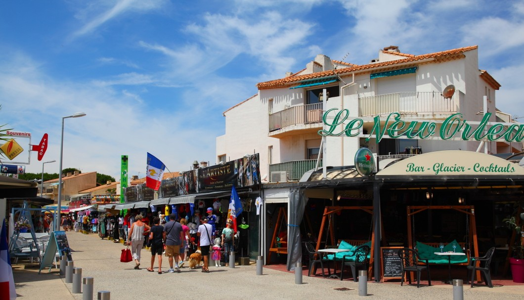 Marseillan-Plage in Südfrankreich am Meer - Shopping 1