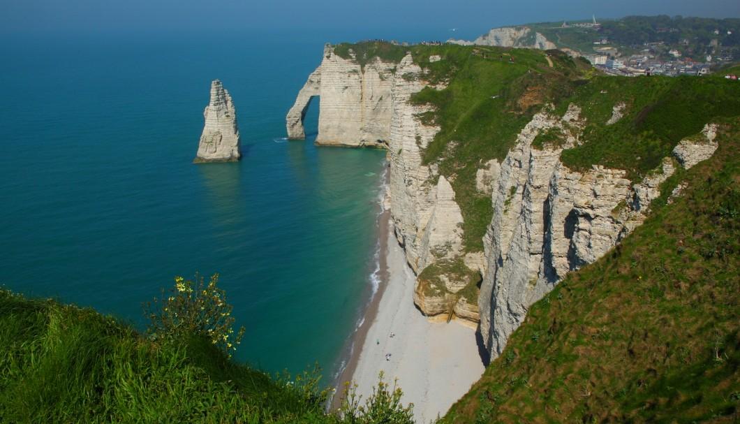 Normandie Urlaub In Etretat Am Meer